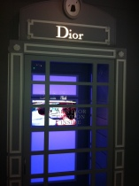 Phonebox that smelt of Miss Dior inside