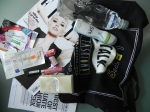 Contents of my FROW goodie bag